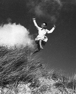 Jump - p1105m1182386 by Virginie Plauchut