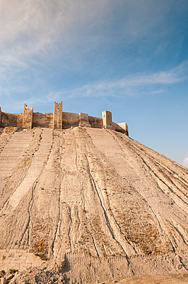 Zitadelle in Aleppo, Syrien - p1493m2063607 von Alexander Mertsch