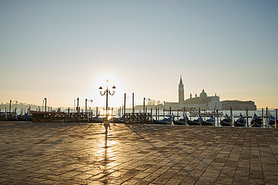 San Marco Square at sunrise - p1312m1575199 by Axel Killian