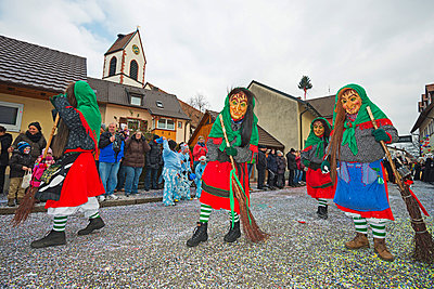 Fasnact spring carnival parade, Weil am Rhein - p871m819476 by Christian Kober