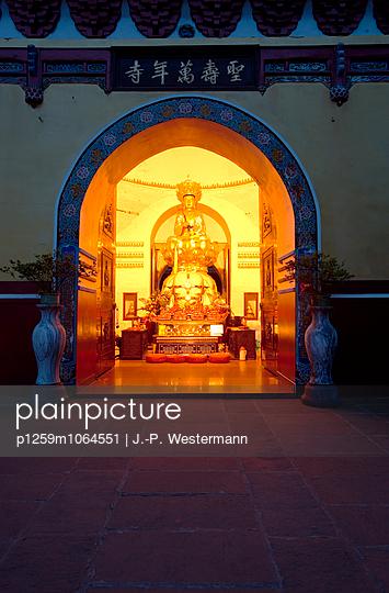 Tempel, Sichuan, Chengdu - p1259m1064551 von J.-P. Westermann