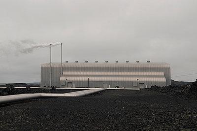 Kraftwerk Suðurnes - p470m1481703 von Ingrid Michel