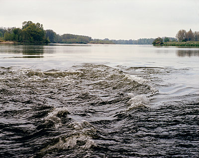 Rapids on Loire river - p1409m1464931 by margaret dearing