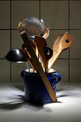 Kitchen utensils - p6760169 by Rupert Warren