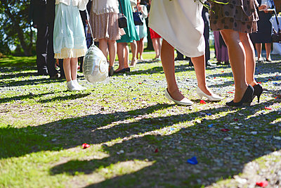 Wedding party - p1167m1116186 by Maria Schiffer