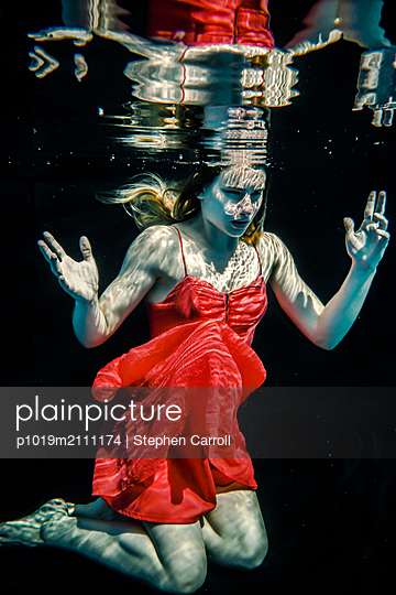 Underwater - p1019m2111174 by Stephen Carroll