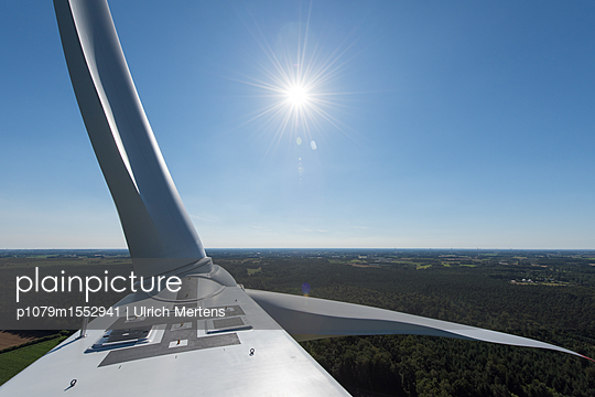Windpark Hollich-Sellen - p1079m1552941 von Ulrich Mertens