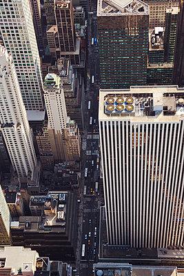 New York aus der Luft - p432m1172390 von mia takahara