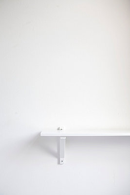 Weißes Wandboard - p4470202 von Anja Lubitz