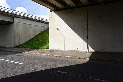 Motorway bridge - p1057m833702 by Stephen Shepherd