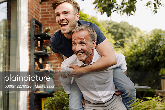 Mülheim an der Ruhr, NRW, Deutschland, Vater, Sohn, Familie, Haus, Eigentum, Immobilie, Familienleben, m59, m30 - p300m2276926 von Gustafsson