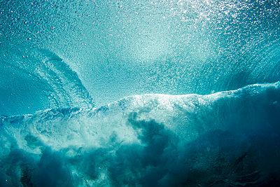 Shore break Wave  - p1014m745960 by Jeff Hornbaker