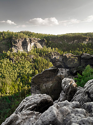 Saxon Switzerland - p926m865402 by C. Müller