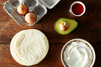 Tacos zubereiten - p1379m1486487 von James Ransom