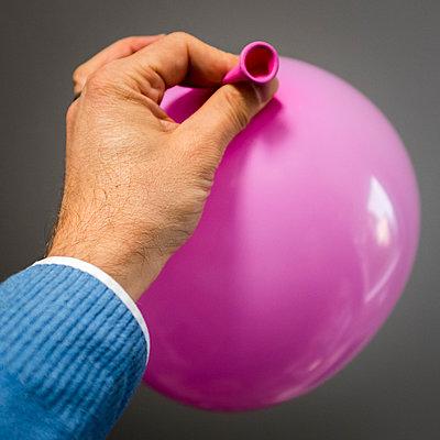 Pink Balloon - p1557m2132709 by dominikdunsch