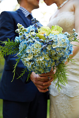 Bride and Groom - p669m1003994 by Kelly Davidson