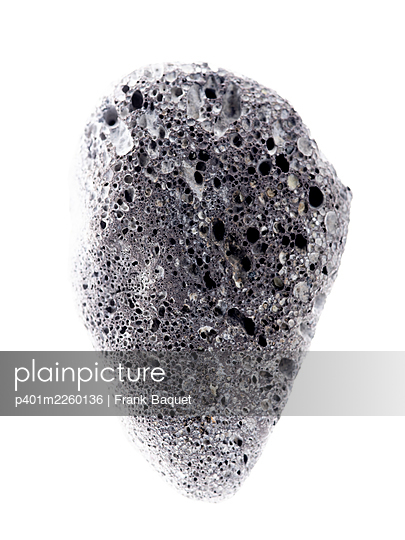 Volcanic stone - p401m2260136 by Frank Baquet