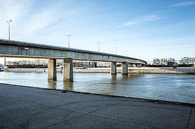 Bridge in Arles - p1153m965624 by Michel Palourdiau