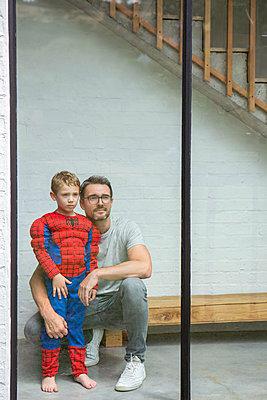 Vater und Sohn - p1156m1585870 von miep