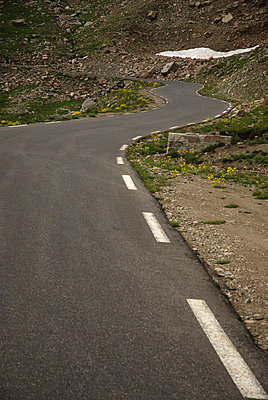 Straße ins Nichts - p2600218 von Frank Dan Hofacker