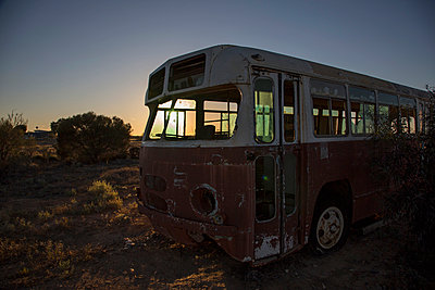 Broken bus - p628m966188 by Franco Cozzo