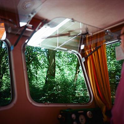 Looking out a Boat Window - p635m1465392 by Julia Kuskin