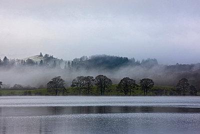 Fog rolling over rural landscape - p42918255 by Henn Photography