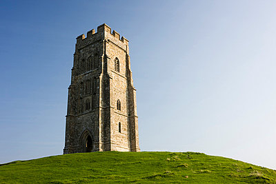 St. Michael's Tower, Glastonbury Tor, Somerset. - p8551080 by David Clapp