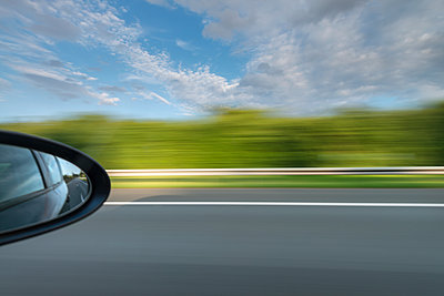 Motorway driving - p335m1216556 by Andreas Körner