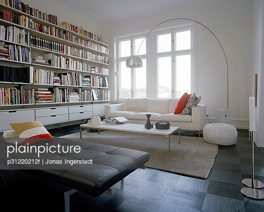 A living room Sweden. - p31220212f by Jonas Ingerstedt