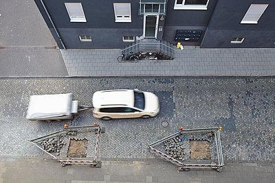 Baustelle von oben - p113m2082695 von Lioba Schneider