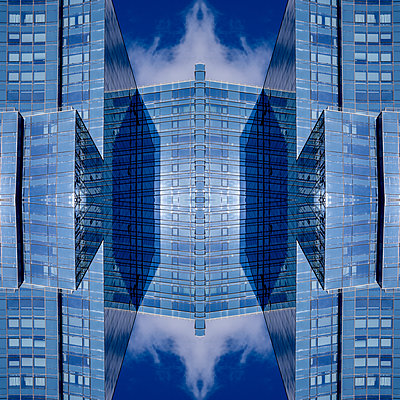 Abstract Architecture Kaleidoscope Boston - p401m2219854 by Frank Baquet