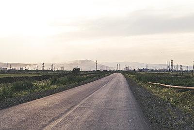 Street to industrial area - p795m1592082 by JanJasperKlein