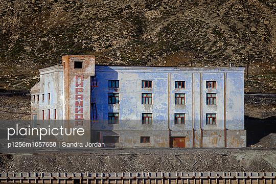 Russischer Bergbau, Barentsburg - p1256m1057658 von Sandra Jordan
