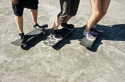 Skateboard-Kids - p0451155 by Jasmin Sander