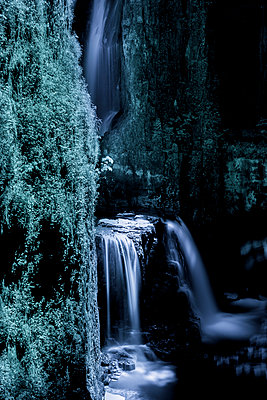 Mystical waterfall - p248m1030779 by BY