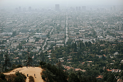 Los Angeles from above - p1507m2141494 by Emma Grann