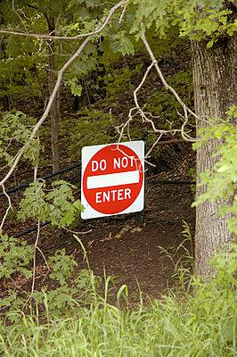 Prohibitory Sign - p1890130 by Pia Pützfeld