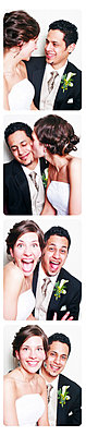 A newlywed couple - p4424358f by Design Pics
