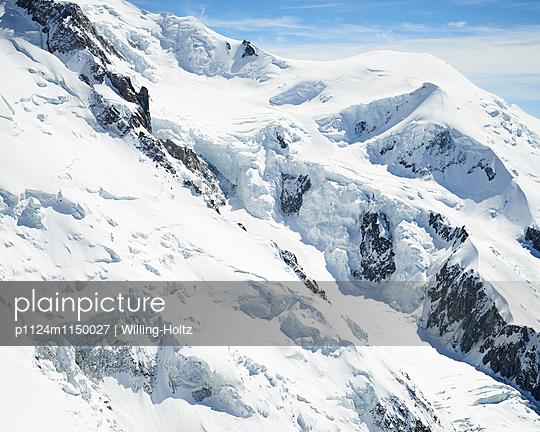 Gletscher am Mont Blanc - p1124m1150027 von Willing-Holtz