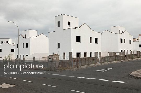 Bungalow-Rohbauten auf Teneriffa - p7270003 von Stephan Sasek