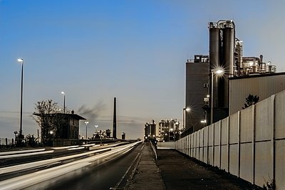 Chemical industrial plan - p401m2228378 by Frank Baquet