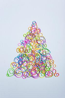 Flexible Christmas tree - p454m1491922 by Lubitz + Dorner