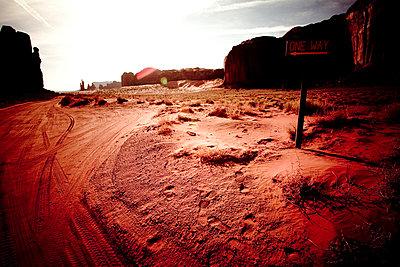 Im Monument Valley - p4450604 von Marie Docher
