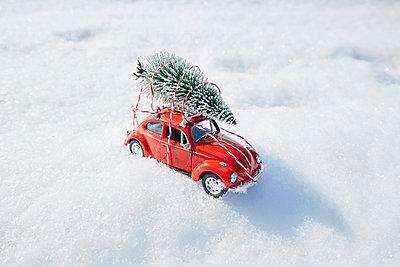 Weihnachtsbaum Lieferung - p464m1550337 von Elektrons 08