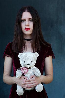 Girl with pale skin - p1412m2133496 by Svetlana Shemeleva
