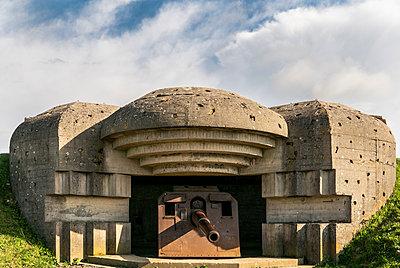World War II german battery  - p1691m2288593 by Roberto Berdini Bokeh