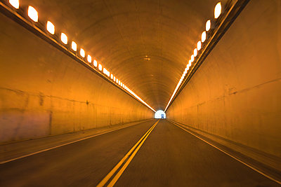Light at the end of a tunnel - p836m1468098 by Benjamin Rondel