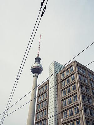 Funkturm in Berlin - p536m1214912 von Schiesswohl