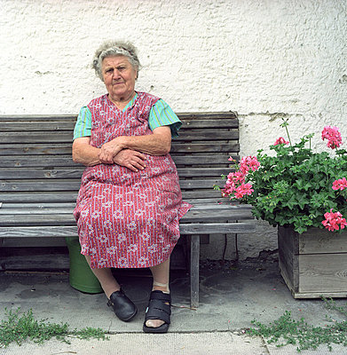 Old farmer's wife - p2670328 by Ingo Kukatz